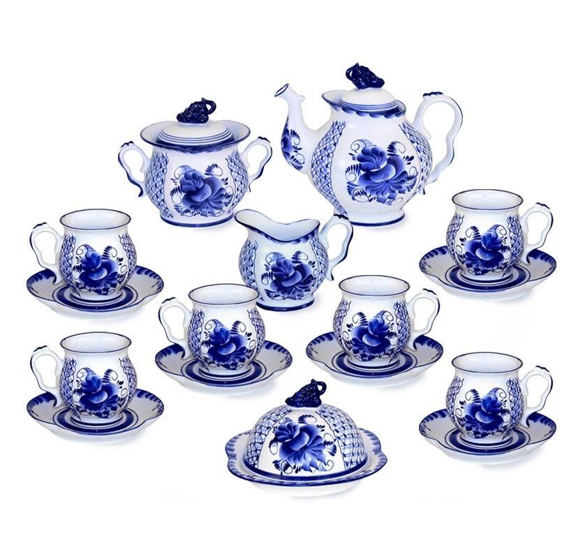 Сервиз чайный Голубая Рапсодия - 993003511