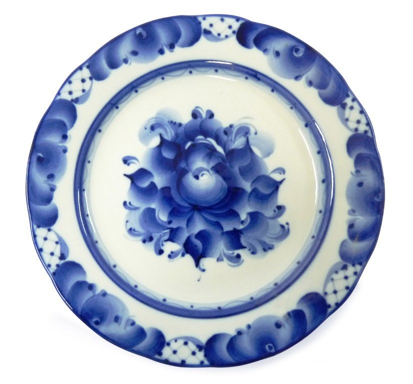 Тарелка мелкая закусочная Дубок (диаметр 240 мм) - 993026441