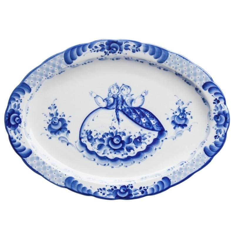 Блюдо Лаванда большое - 993191005