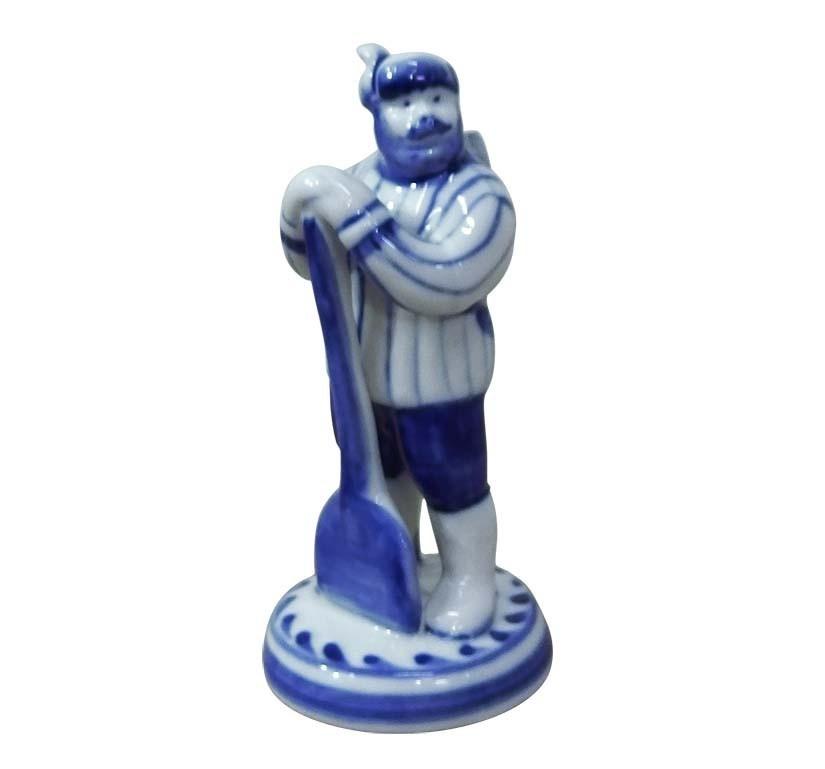 Скульптура Мужик с лопатой - 993223061