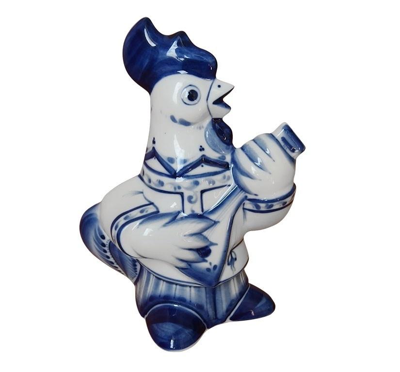 Скульптура Петух-балалаечник - 993223401