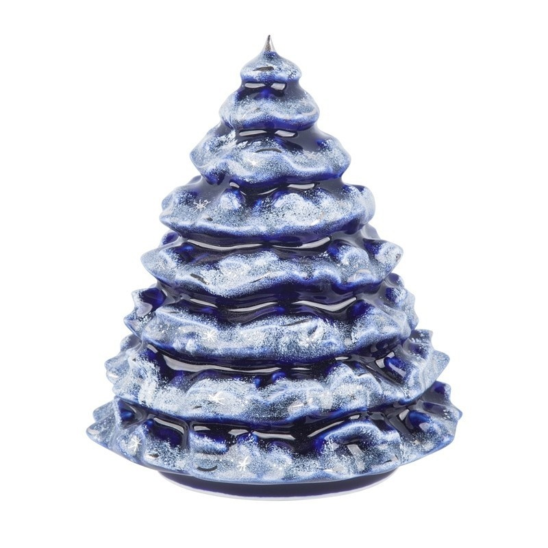 Сувенир Елочка (кобальт, краски, платина) - 993300323