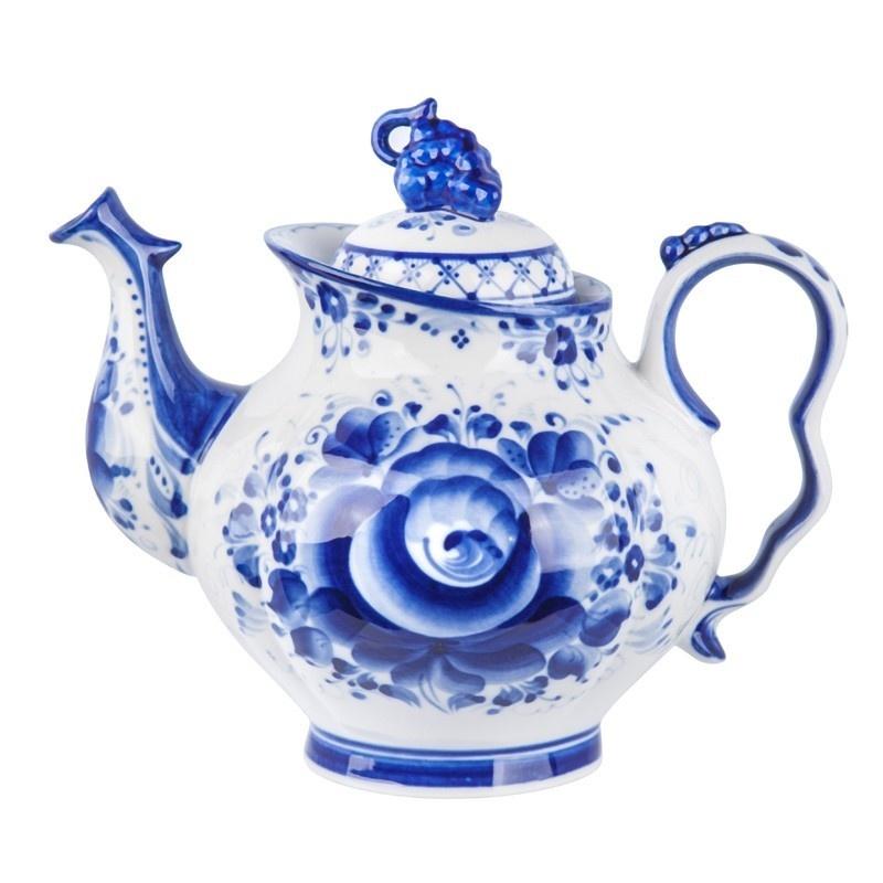 """Сервиз чайный """"Голубая рапсодия"""" авторская работа - 993400706"""