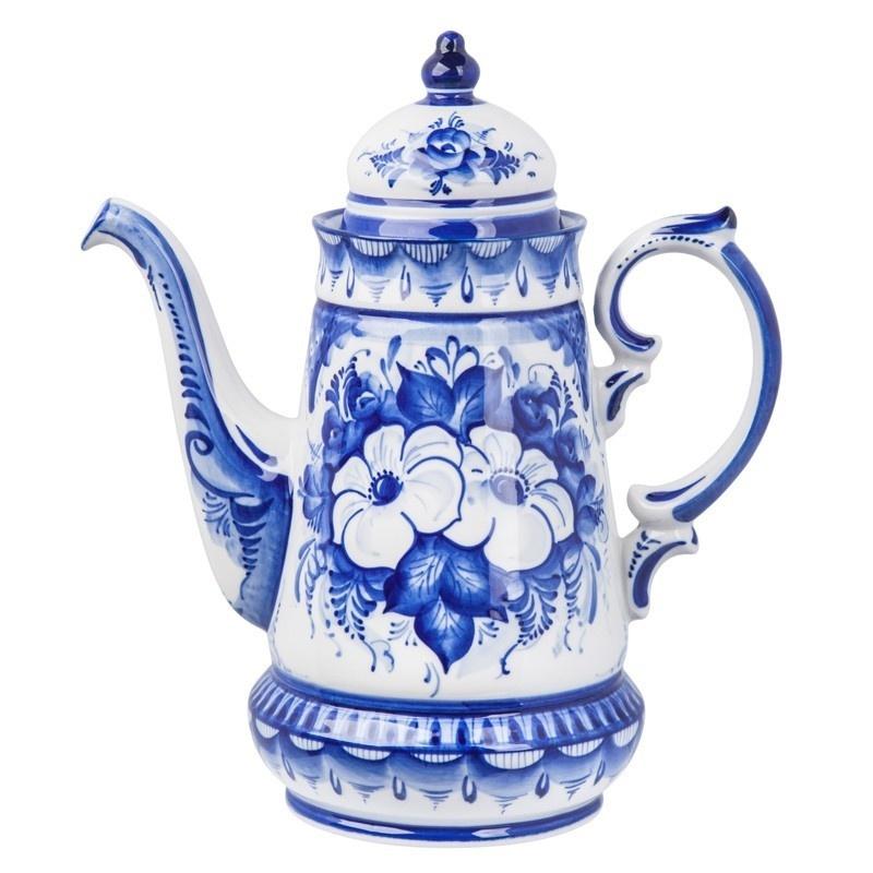 """Кофейник Чародейка """"Белый цветок"""" - 993400926"""