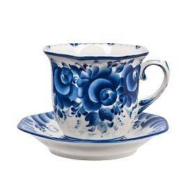 Чайная пара Граненая - 993402901