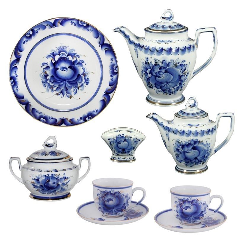 Сервиз чайный Каролина (золото) - 997003810