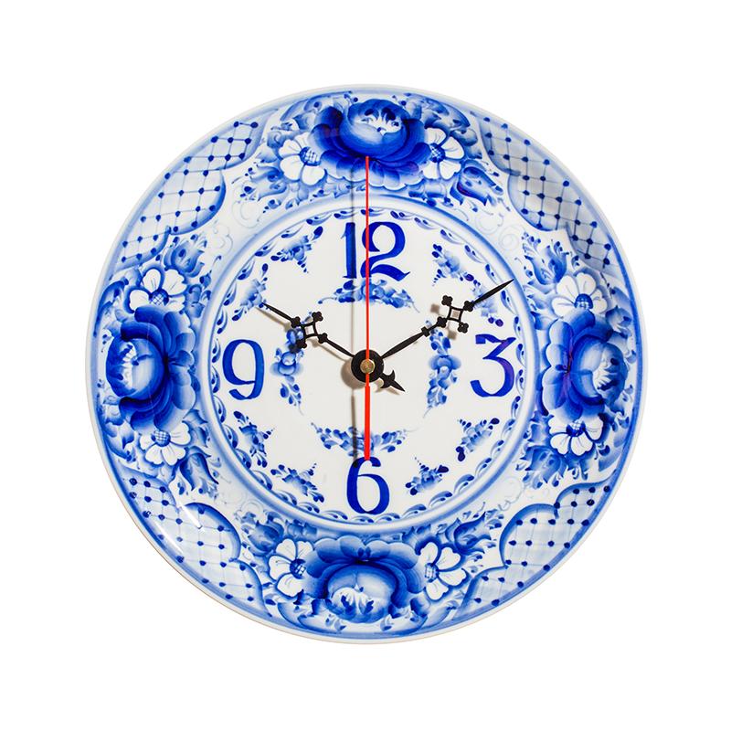Часы Тарелка авторская работа - 993004256