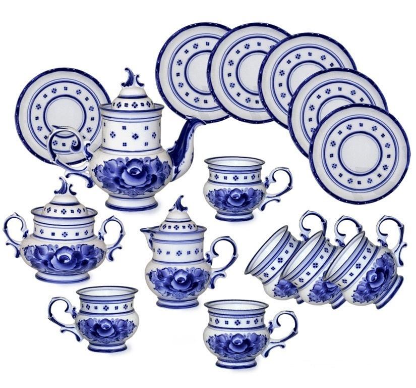 Сервиз чайный Голубка - 993030711