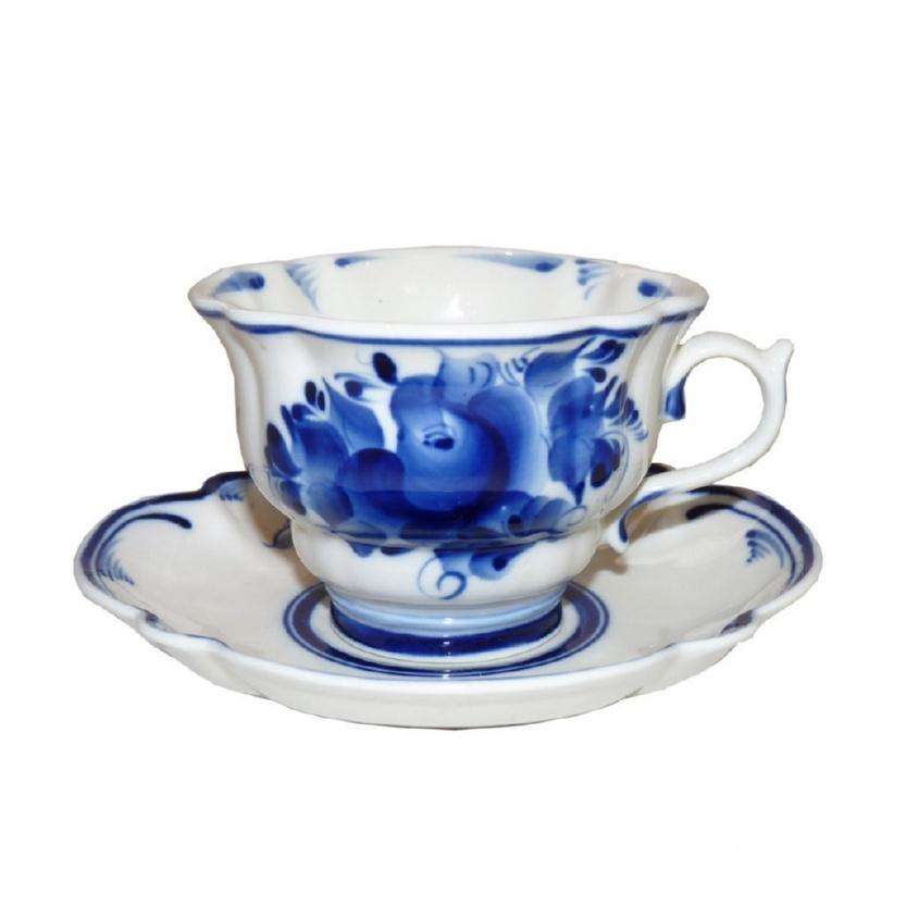 Чайная пара Орхидея - 993040711