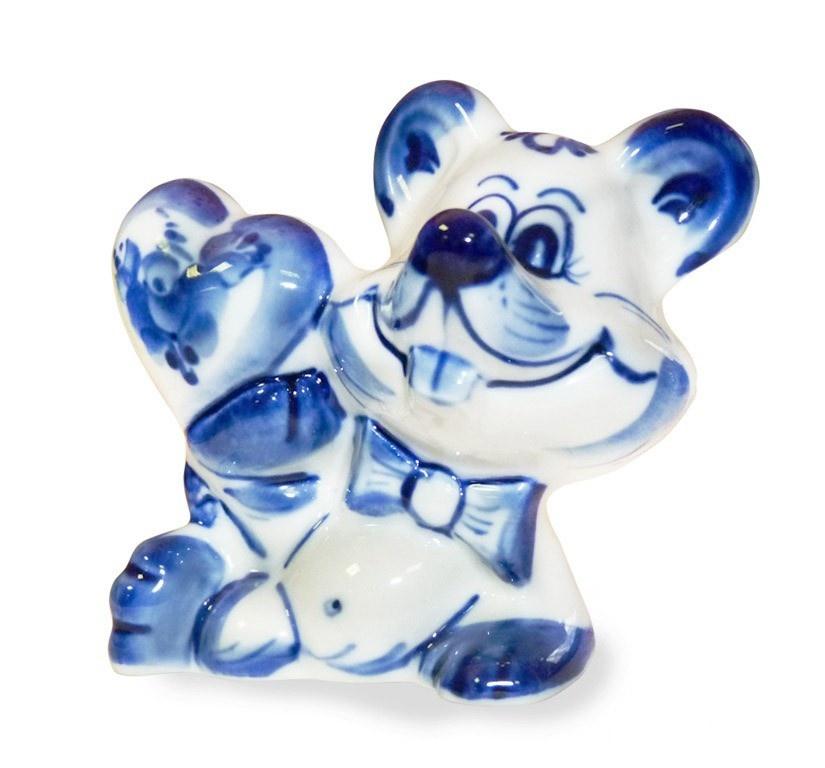 Скульптура Влюблённый мышонок - 993134801