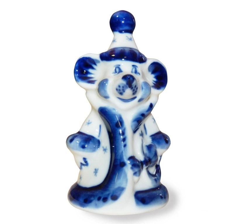 Скульптура Мышь-снегурочка - 993135101