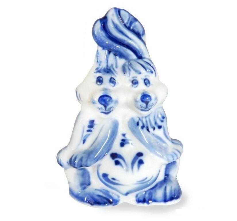 Скульптура Влюблённые зайчата - 993150501