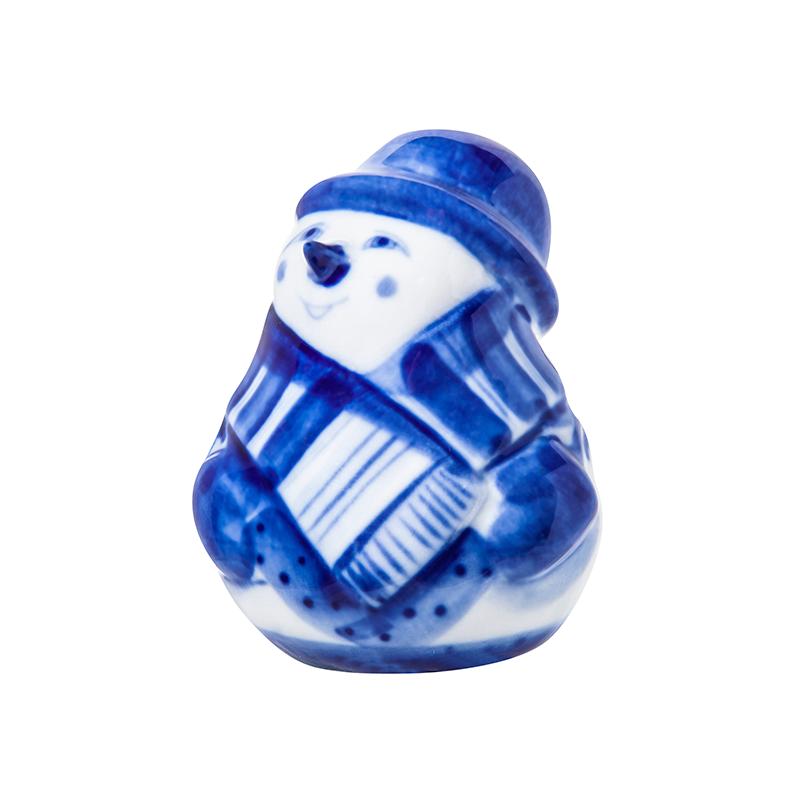 Елочная игрушка Снеговичок - 993304521