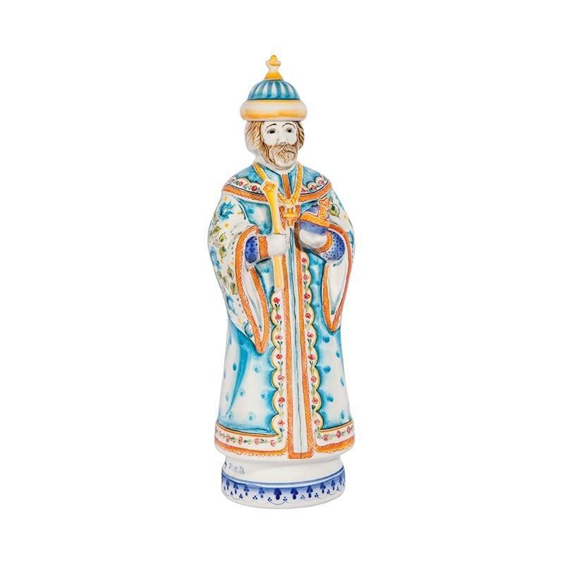 Штоф Царь (подглазурные цветные краски, кобальт) - 993312481