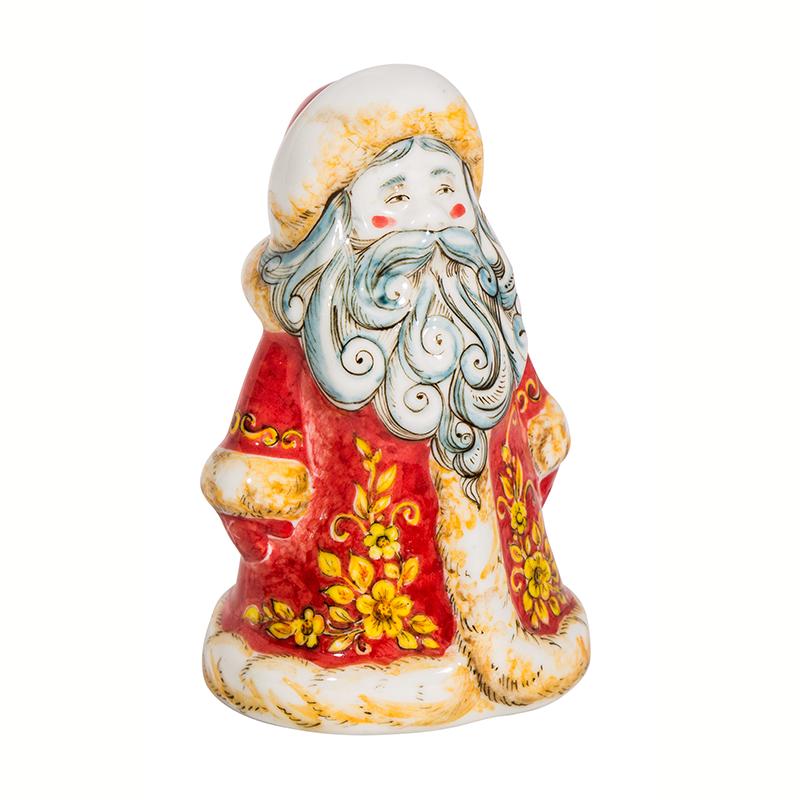 Скульптура Дед Мороз (подглазурные цветные краски) - 993316221