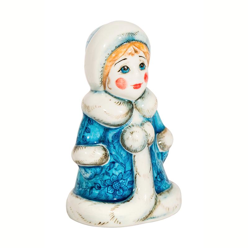 Скульптура Снегурочка (подглазурные цветные краски) - 993316241