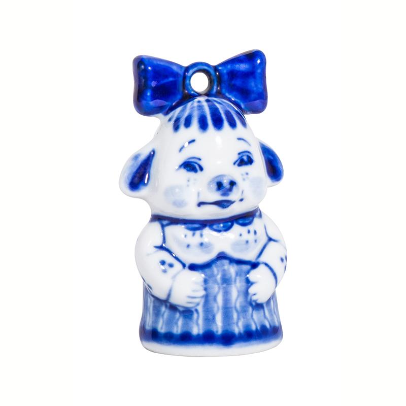 Елочная игрушка свинка Бантик - 993316391