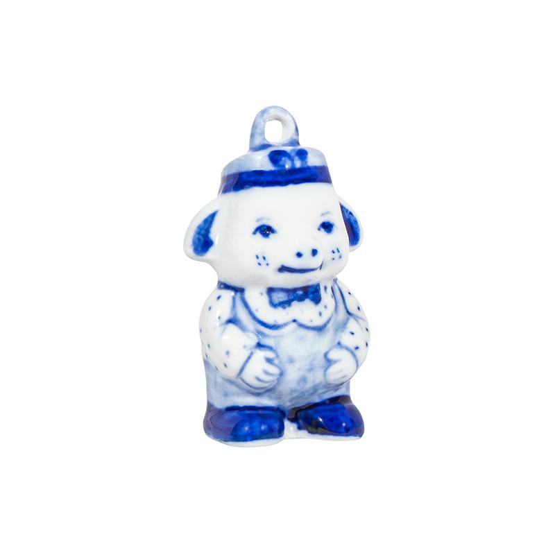 Елочная игрушка поросенок Фантик - 993316401