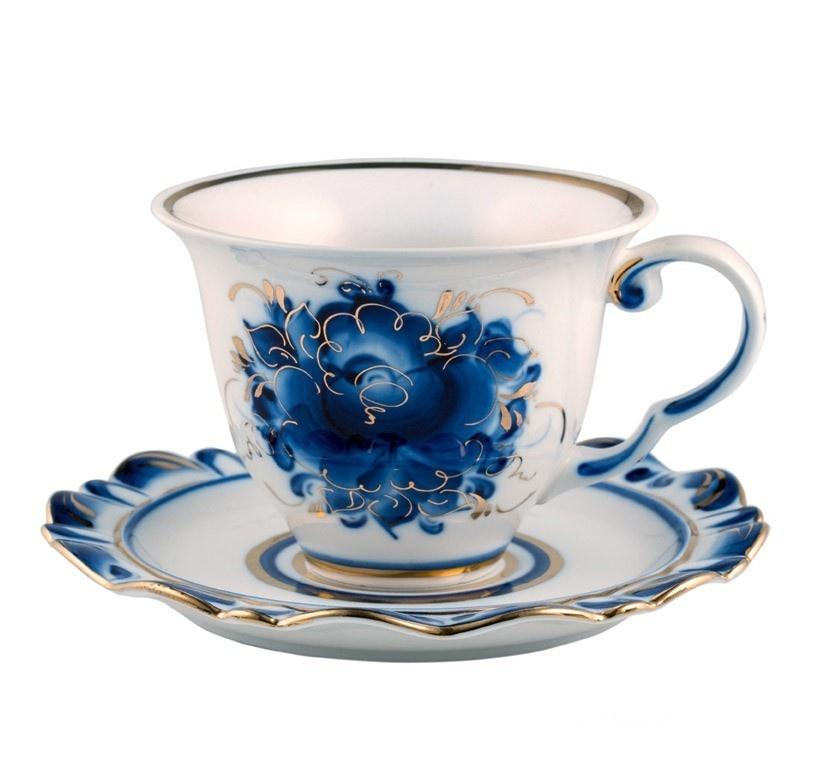 Чайная пара Мария (золото) - 995161610