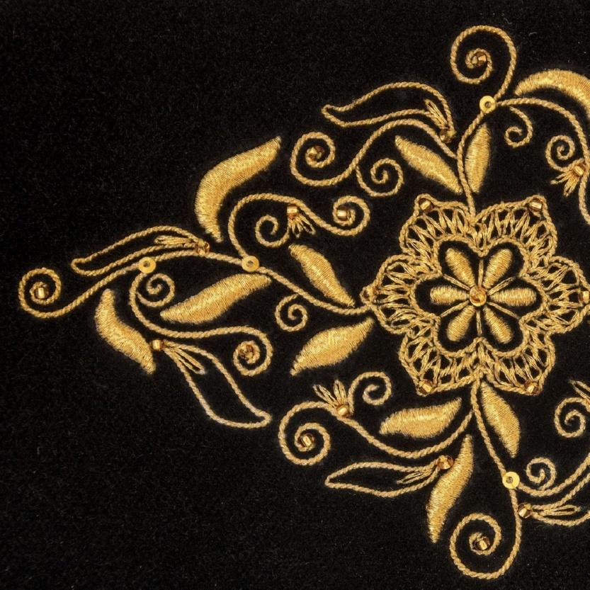 Бархатный клатч «Торжество» - м.413-3 р.1523