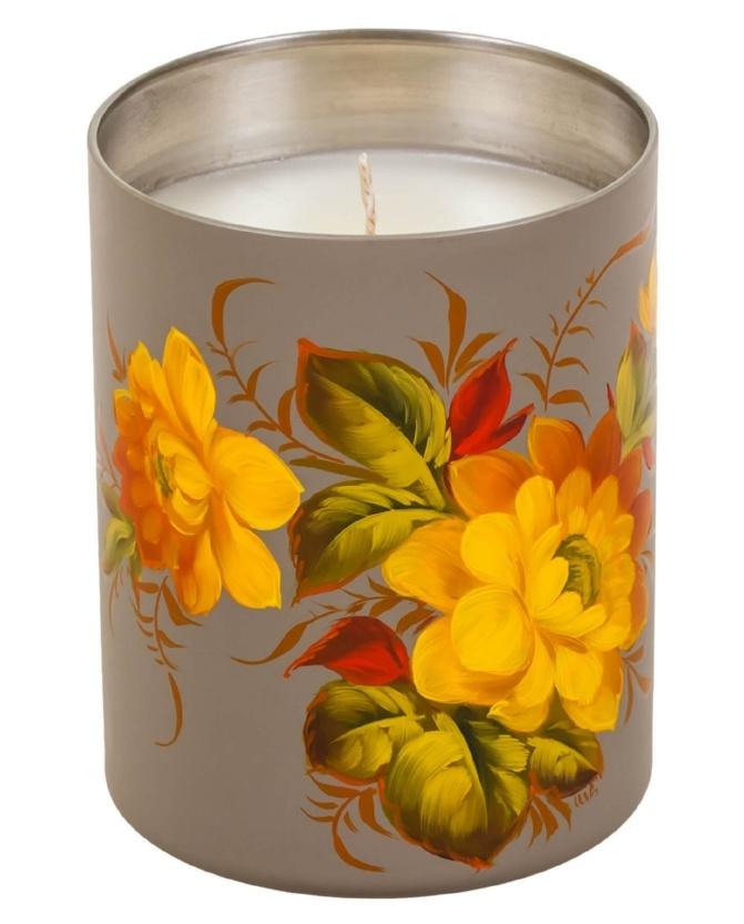 Свеча ароматизированная с натуральным воском - CA01D121118005