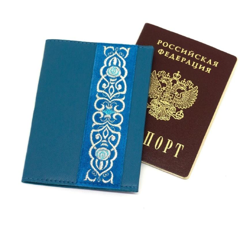 Обложка для паспорта «Аромат весны» - м.729 р.2228