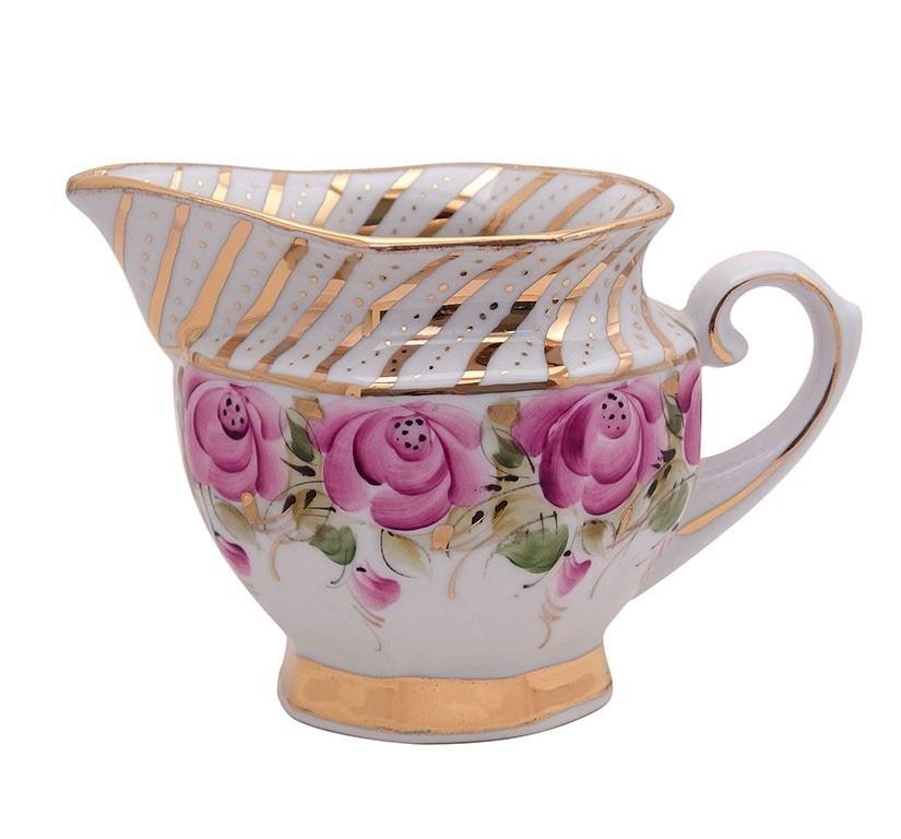 Сервиз чайный Граненый (надглазурные цветные краски, золото) - 993034915