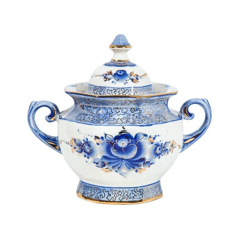 Сервиз чайный Граненый (золото) авторская работа - 993402106