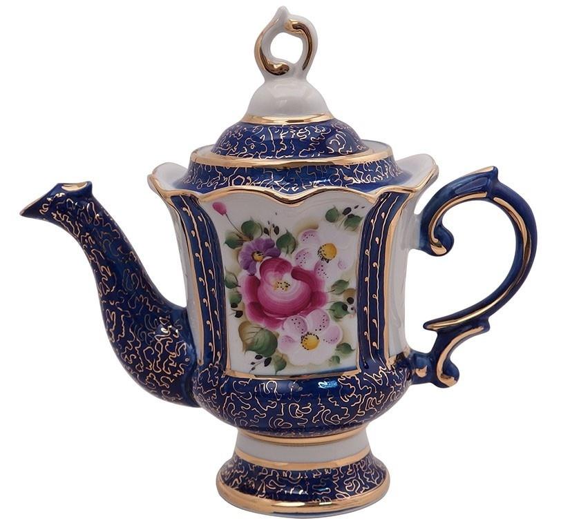 Сервиз кофейный Идиллия (надглазурная роспись), на 6 персон - 993035610