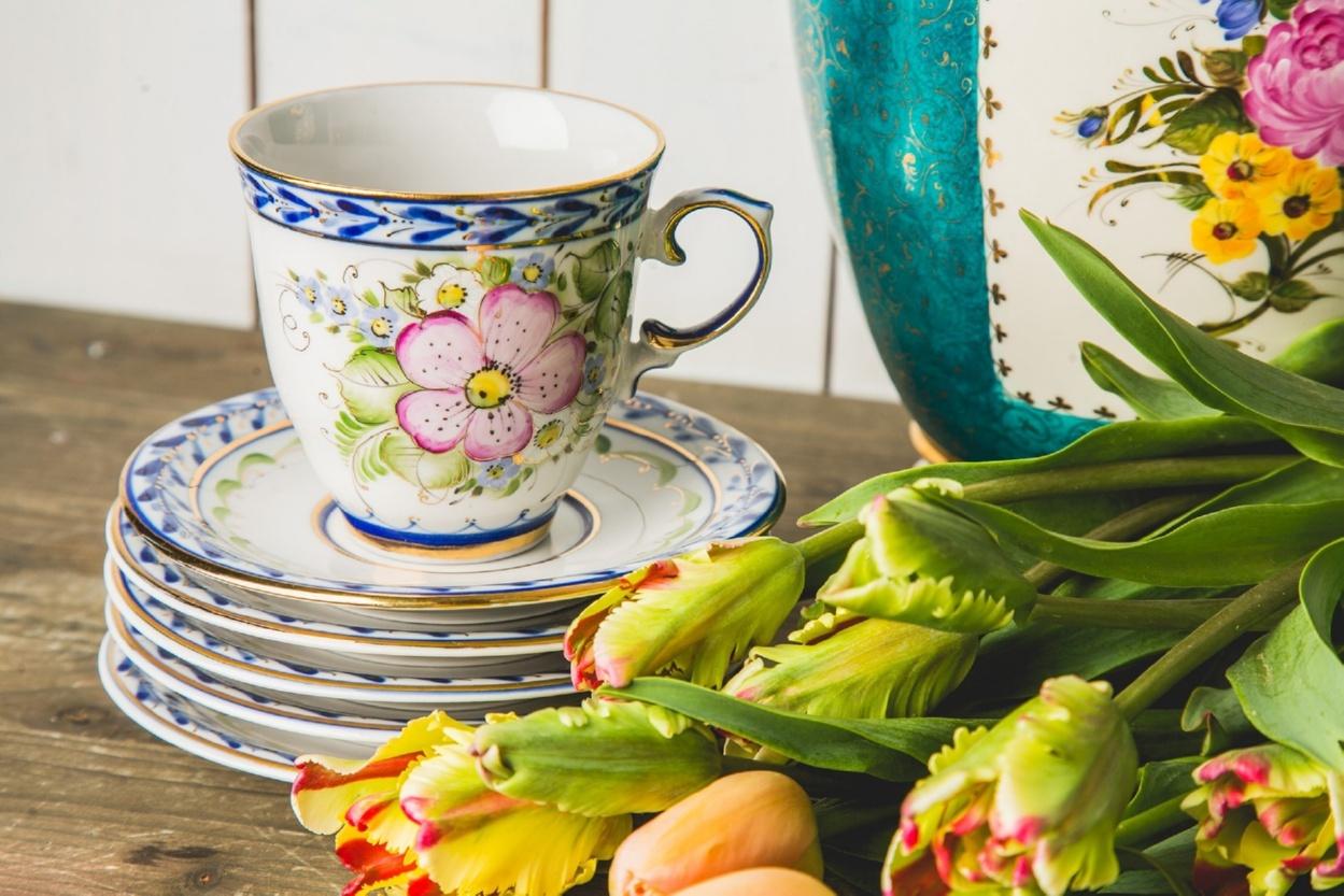 Сервиз чайно-кофейный Чародейка - 993046615