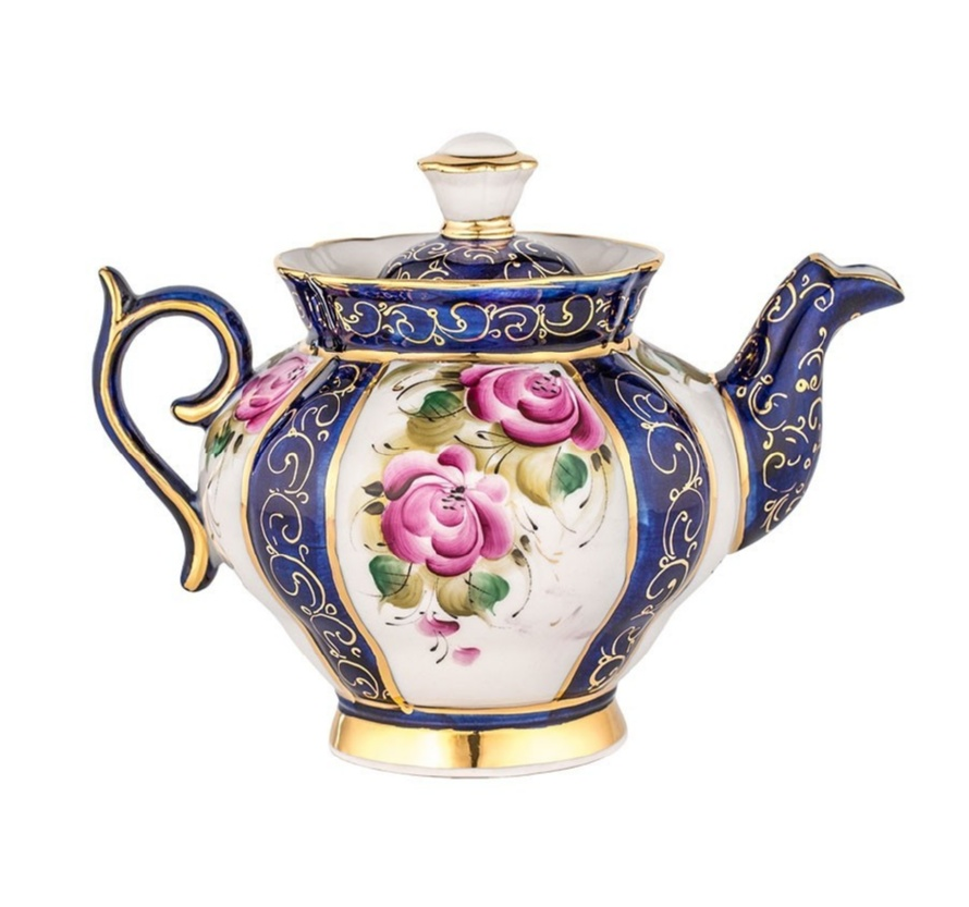 Сервиз чайный Орхидея (надглазурная роспись) - 993049715