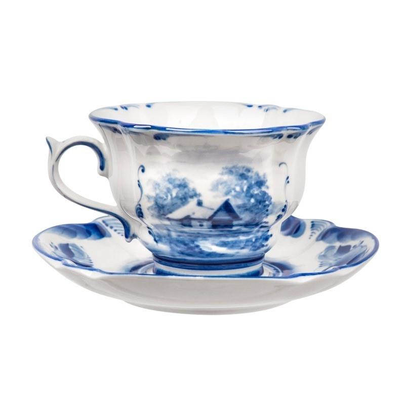 Сервиз чайный Орхидея (тематическая роспись) - 993051015