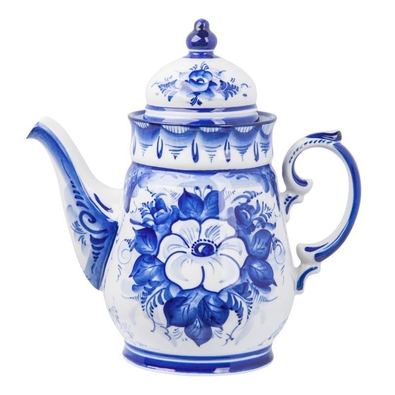 """Сервиз чайно-кофейный Чародейка """"Белый цветок"""" - 993400906"""