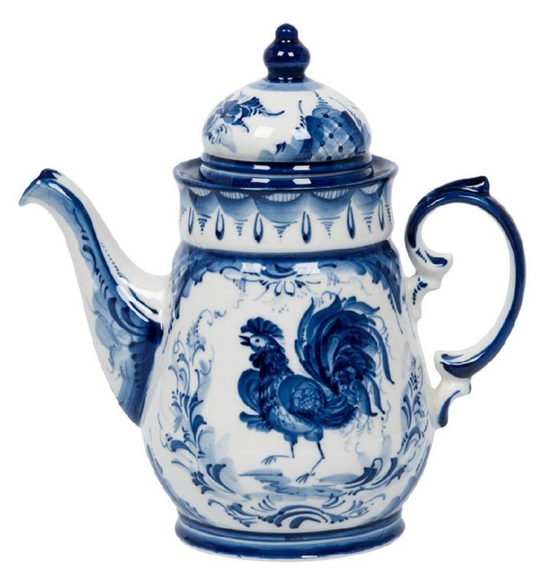 Сервиз чайно-кофейный Чародейка «Петухи» - 993400906