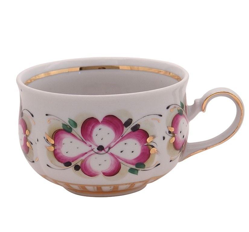 Сервиз чайно-кофейный Маргарита (надглазурная роспись), на 6 персон - 999001505
