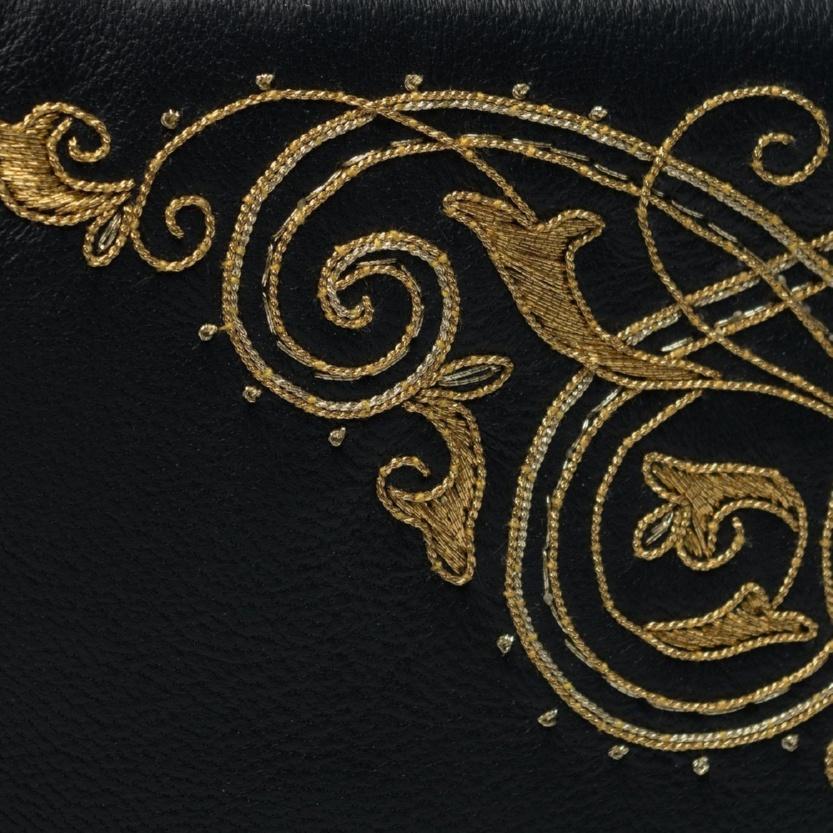 Кожаный очечник «Музыка» - м.249-1 р.2143