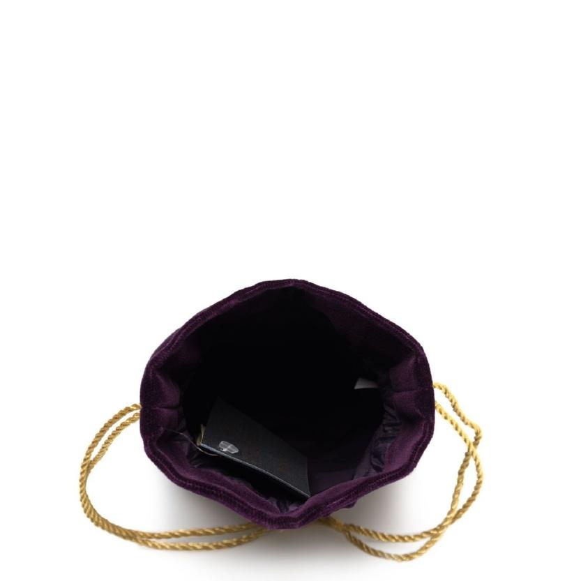 Бархатная сумка-мешочек «Романс» - м.49-2 р.1195