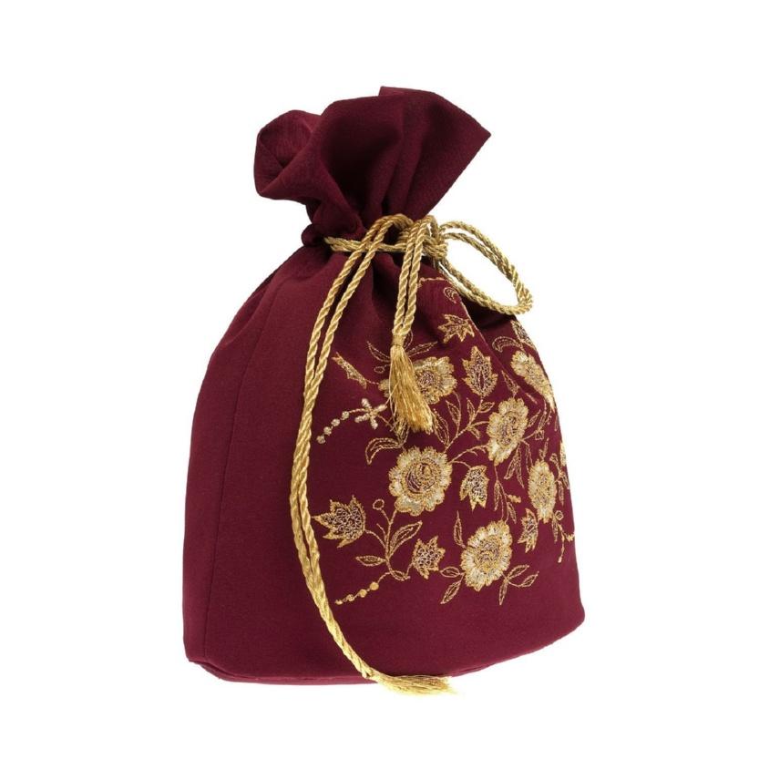 Сумка-мешочек «Золотая роза» - м.49 р.549