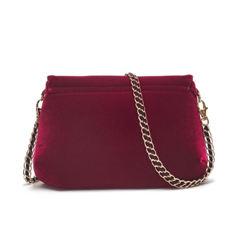 Бархатная сумка «Виктория» - м.856 р.2481
