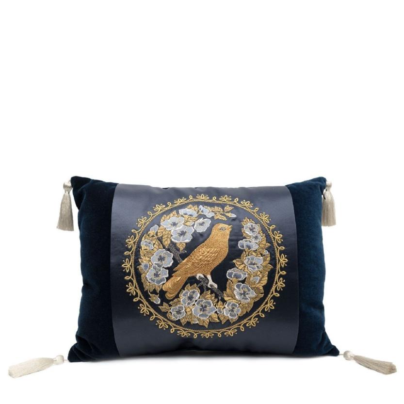 Новинка. Подушка диванная «Птица в цветах» - м.914 р.2375