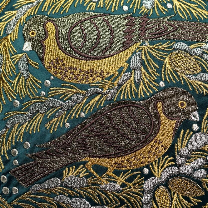 Новинка. Подушка диванная «Птица на сосне» - м.924 р.2374