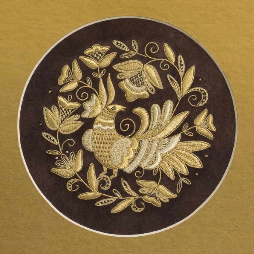Панно ручная вышивка «Песня лета» - р.1006