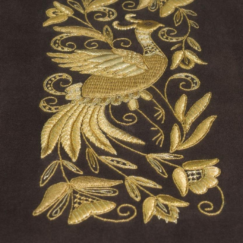 Панно ручная вышивка «Сказочная птица» - р.1007