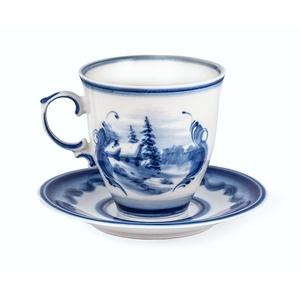 Чайная пара Чародейка (тематическая роспись) - 993067015
