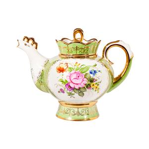 Чайник Подарочный большой (надглазурные цветные краски, золото) авторская работа - 993012426