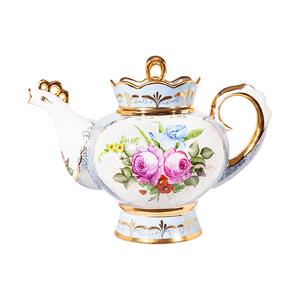 Чайник Подарочный большой (надглазурные цветные краски, золото) авт. р. - 993012426