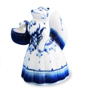 Скульптура Лиса с корзинкой - 993054201