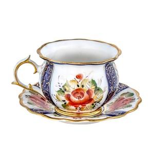 Чайная пара Императорская (надглазурная роспись) - 993055015