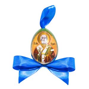 Яйцо с бантиком высоко- художественная роспись (авторская роспись) - 993101215