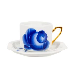 """Чайная пара """"Роза"""" - -9181"""